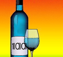 100 years bottle of wine by maydaze