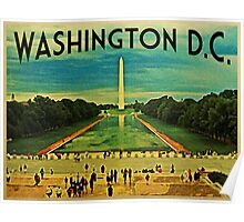 National Mall Washington, D.C. Poster