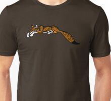 Sleeping Red Wolf Unisex T-Shirt