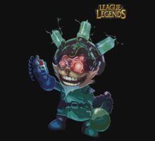 League of Legends - Ziggs Scientist by JellyBeanie