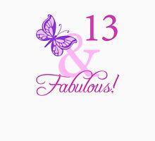 Fabulous 13th Birthday For Girls T-Shirt