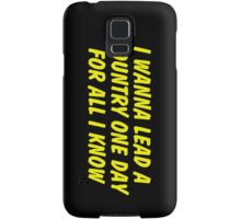 Nicki Samsung Galaxy Case/Skin