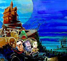 monster car by hollandart