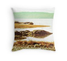 Coast of Maine Throw Pillow