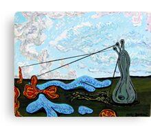 Overhead, Under Water Canvas Print