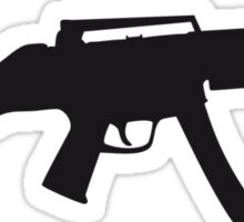 Assault Rifle Gun Sticker
