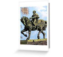 Statue of Jose Artigas Greeting Card