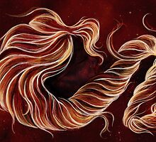 Ribbons of Flame by Barbora  Urbankova