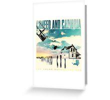 COHEED CAMBRIA COLOR BEFORE SUN ALBUMS Greeting Card