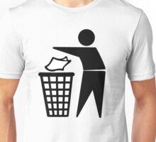 Do Not Litter Symbol Unisex T-Shirt