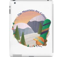 Mountains Are Calling - Snowboard iPad Case/Skin