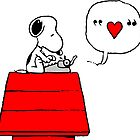 Snoopy in Love by Marianus