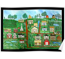 Sandwich, Massachusetts Commissioned Painting Poster