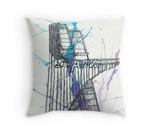 Stark Tower Throw Pillow