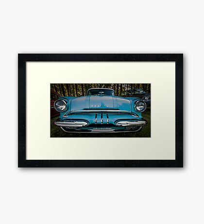 Aqua Chief Framed Print