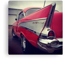 Classic Chevrolet Belaire Canvas Print