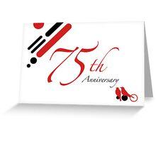 75th Anniversary Greeting Card