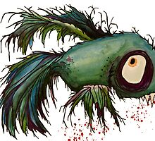 """""""ds"""" the zombie betta fish by justL"""