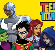 Teen Titans Go! by Paige Thulin