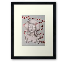 Pretty in Ribbon Fine Art Framed Print