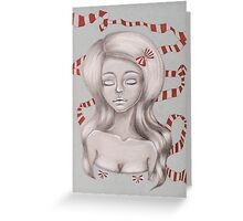 Pretty in Ribbon Fine Art Greeting Card