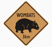 Wombats Sign by SignShop