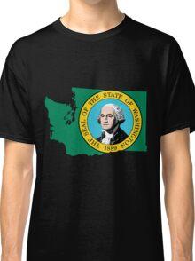 Washington State [Blk] | SteezeFSC Classic T-Shirt