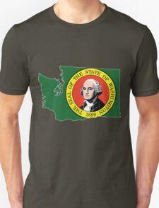 Washington State Rasta [Wht] | SteezeFSC T-Shirt
