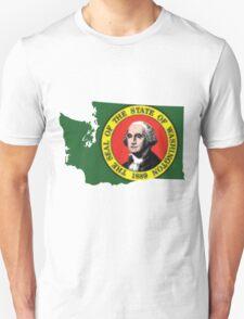 Washington State Rasta [Trippy Version] | SteezeFSC T-Shirt
