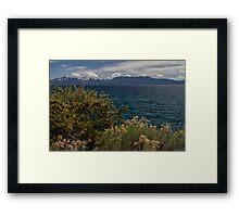 The Wild - Lake Tahoe Framed Print
