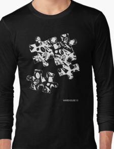 Warehouse 13 Puzzle for Black Long Sleeve T-Shirt