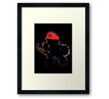 Mario Smash 4 Framed Print