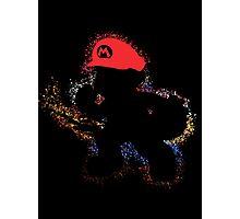 Mario Smash 4 Photographic Print