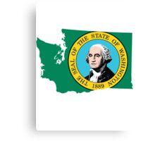 Washington State   SteezeFSC Canvas Print