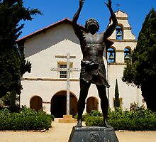 San Juan Bautista Mission #3 by AmishElectricCo