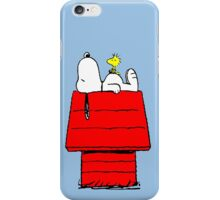 Snoopy and Woodstock Sleeping iPhone Case/Skin