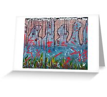 Valley Of The Blind Greeting Card