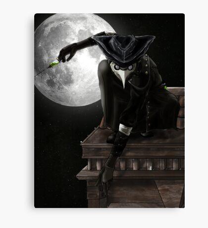 Dr Death Canvas Print