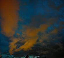©HCS Red And Blue Sky Vertical by OmarHernandez