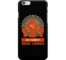 SOVIET RED ARMY 3 FISTS iPhone Case/Skin