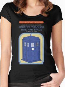 Come Along on an Adventure (Dark Shirt) Women's Fitted Scoop T-Shirt