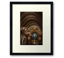 San Carlos de Carmelo Mission #7 Framed Print