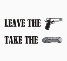 Leave the gun, take the cannoli. by kmorris-b