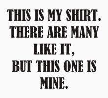 This is my shirt (Full Metal Jacket) by kmorris-b