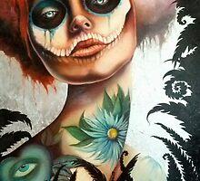 Tattooed Lady by Sylvia Lizarraga