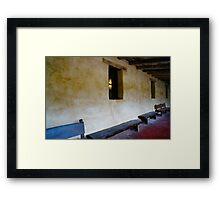 San Carlos de Carmelo Mission #18 Framed Print