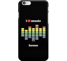 I HEART HOUSE MUSIC iPhone Case/Skin
