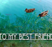 to my best friend ...  by maydaze