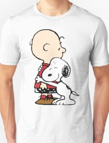 Snoopy Hugs Charlie T-Shirt