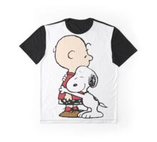 Snoopy Hugs Charlie Graphic T-Shirt